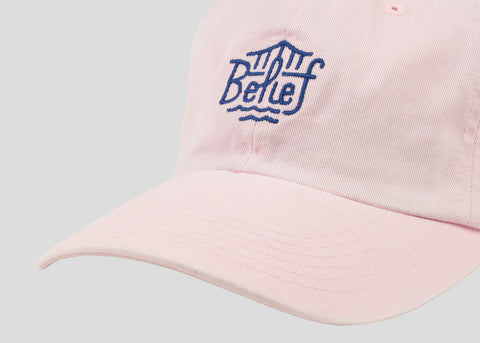 Triboro Washed Cap - Pink