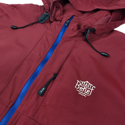 Triboro Windbreaker - Brick