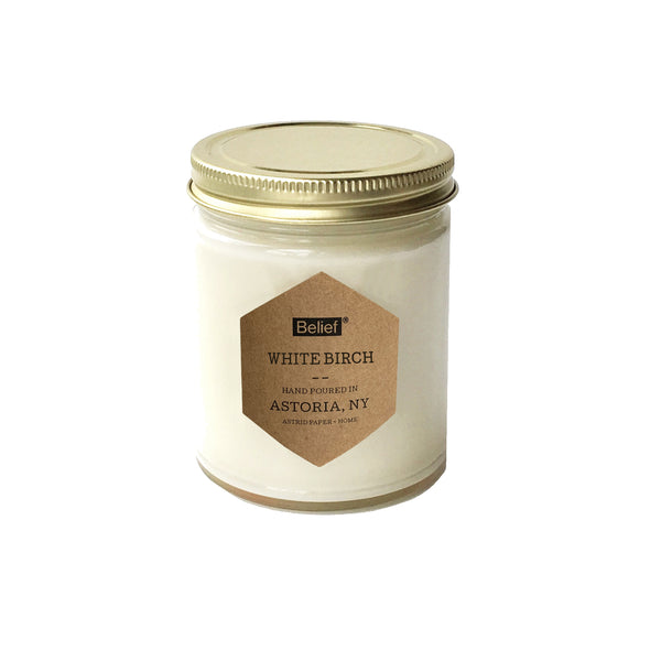Belief® Candle - White Birch