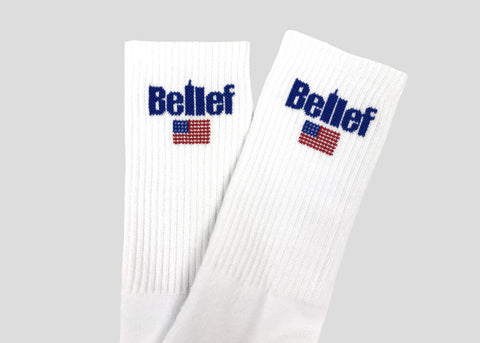 World Trade Sock - White
