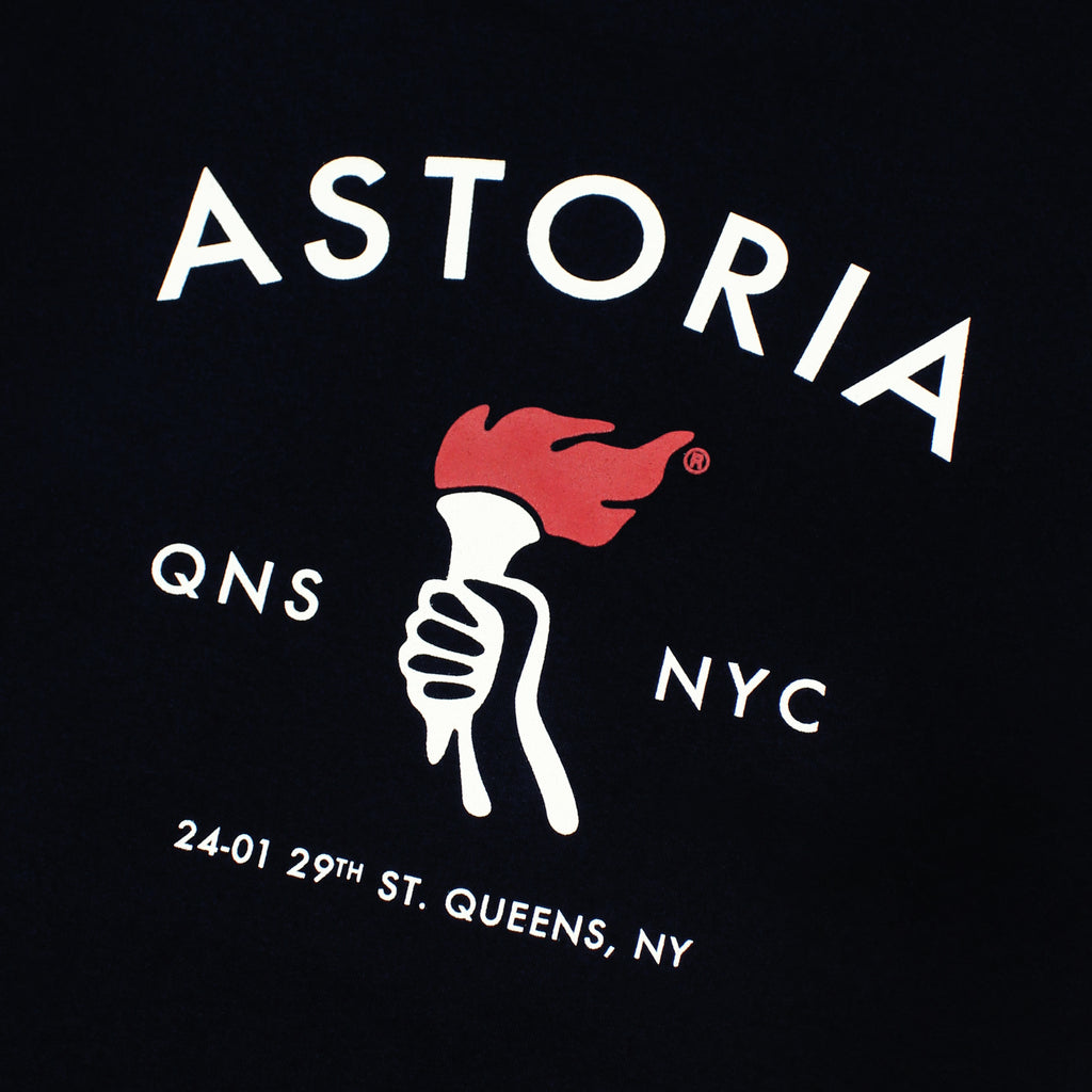 Astoria Tee - Navy