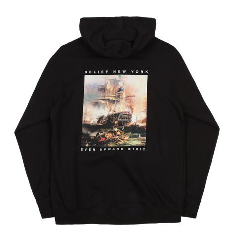 1812© Zip Hoody - Black