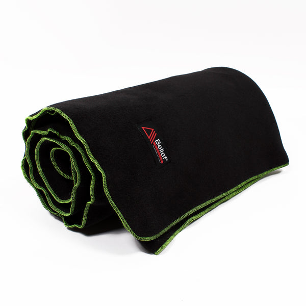 Polartec® Fleece Blanket - Black