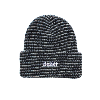 Wave Beanie - Black Mix