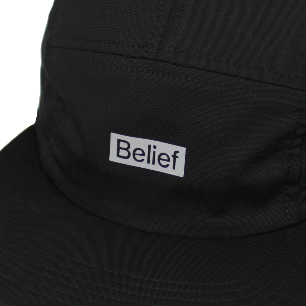 Box Logo 5 Panel - Black