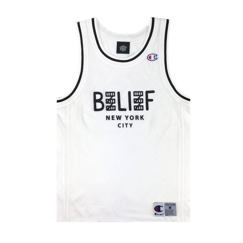 City Block Champion™ Mesh Tank - White