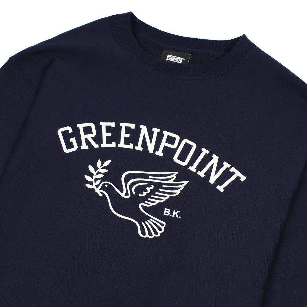 Greenpoint Champion™ Crewneck - Navy