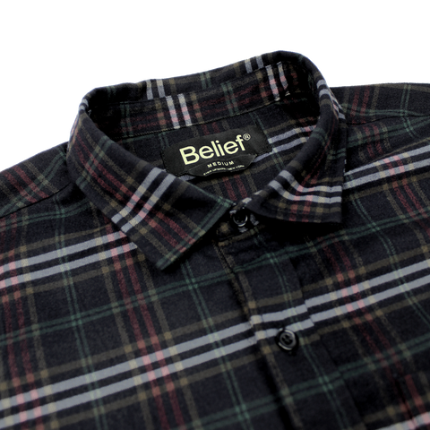 Camper Flannel - Black Multi