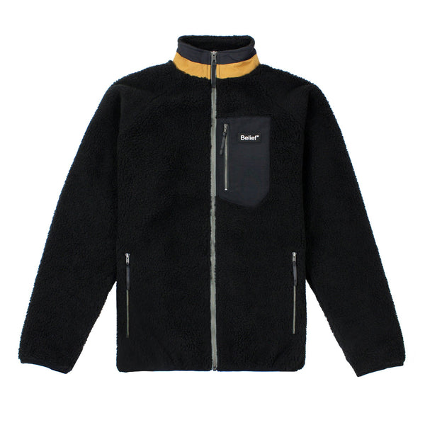 Arctic Zip Fleece - Black