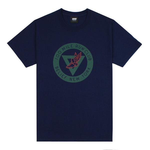 Run Club Tee - Navy