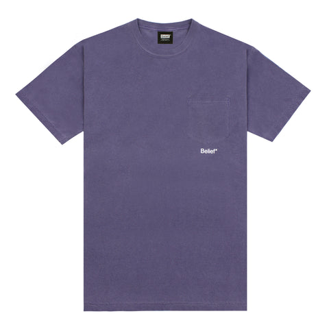 Core Pocket Tee - Grape