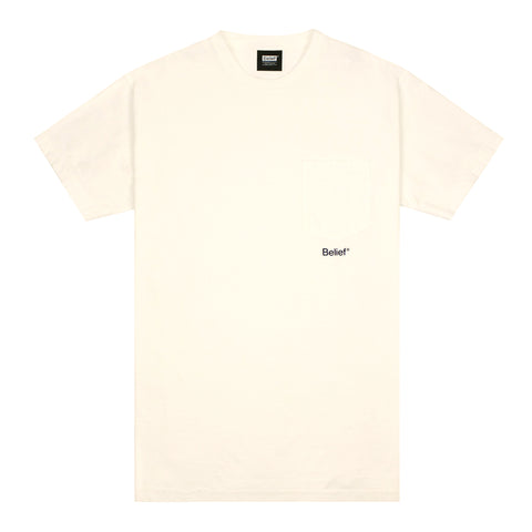 Core Pocket Tee - Ivory