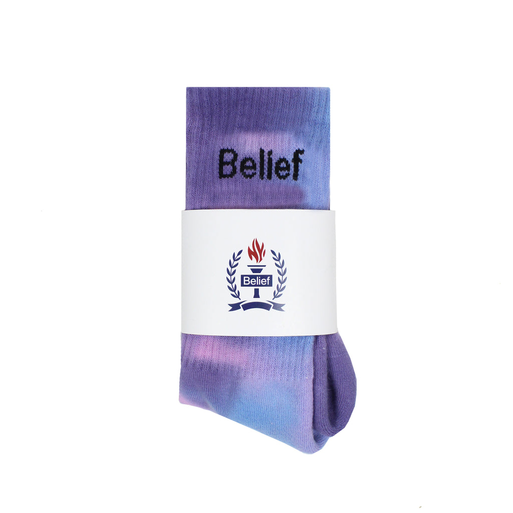 Logo Sock - Purple Multi