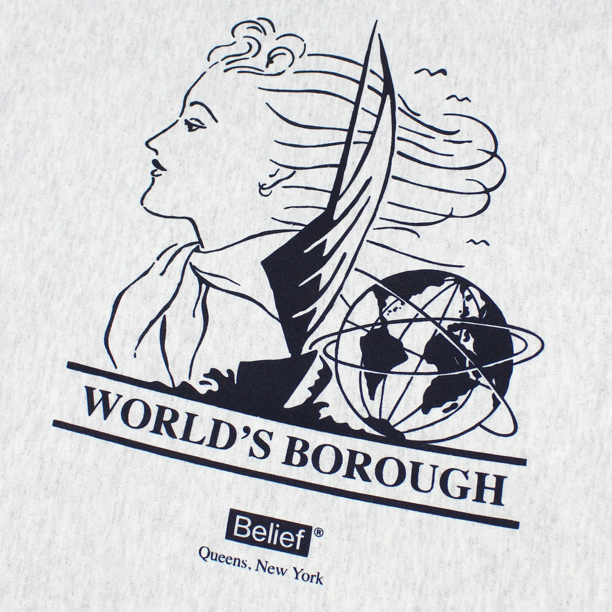 World's Borough Champion® Hoody - Ash