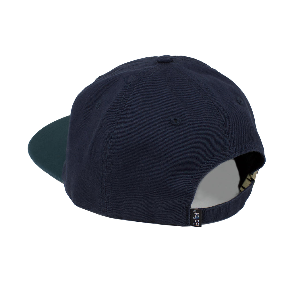 Stacked 6 Panel - Navy/Hunter