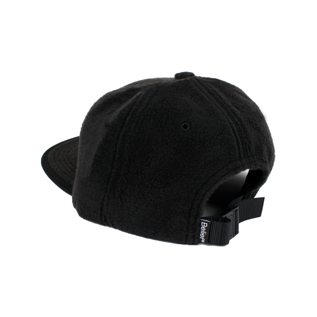 Fleece Logo 6 Panel - Black