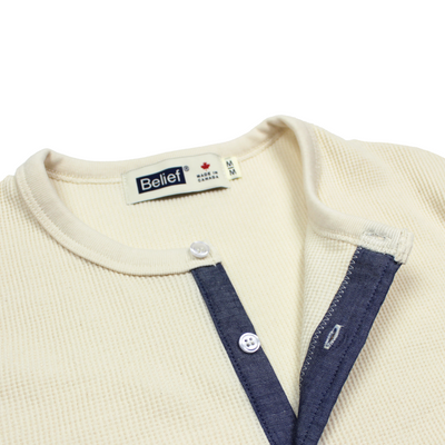 Backwoods Thermal Henley - Natural