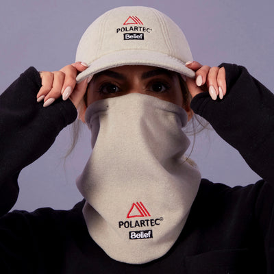 Polartec® Neck Warmer - Oatmeal Heather