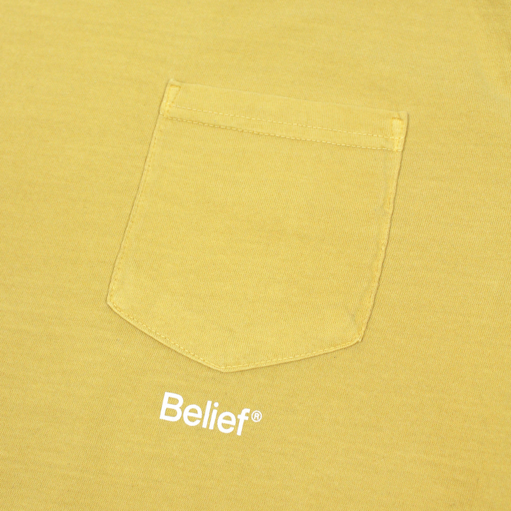 Core Pocket Tee - Mustard