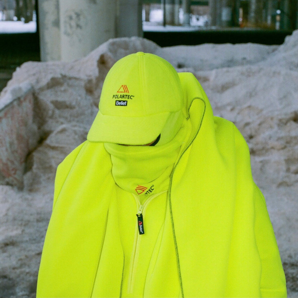 Polartec® Fleece Cap - Safety Yellow