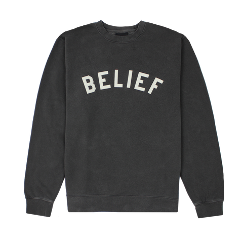 Ivy League Crewneck - Vintage Black