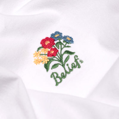 Bouquet Tee - White