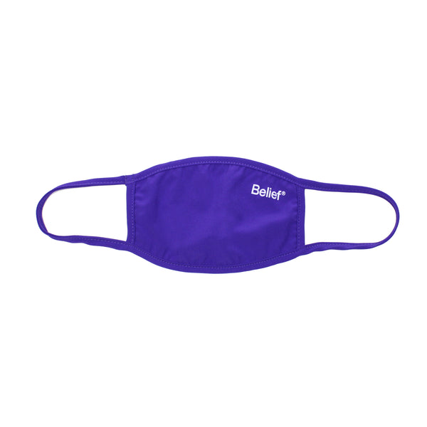 Premium Logo Face Mask - Purple