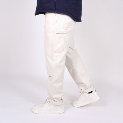 Double Knee Carpenter Pant - Natural