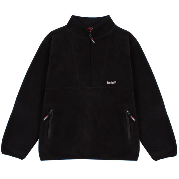 Polartec® 1/2 Zip Fleece - Black