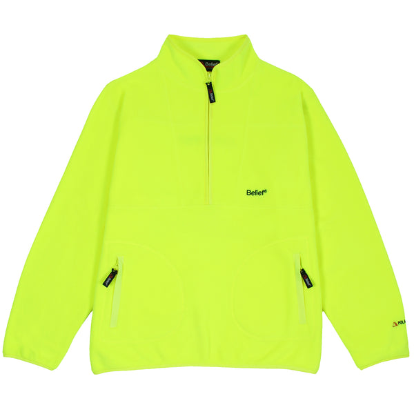 Polartec® 1/2 Zip Fleece - Safety Yellow