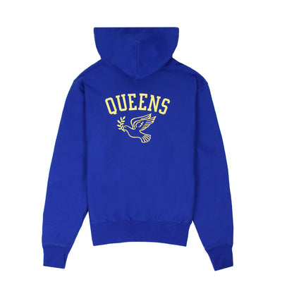 Queens Reverse Weave Champion™ Hoody - Royal