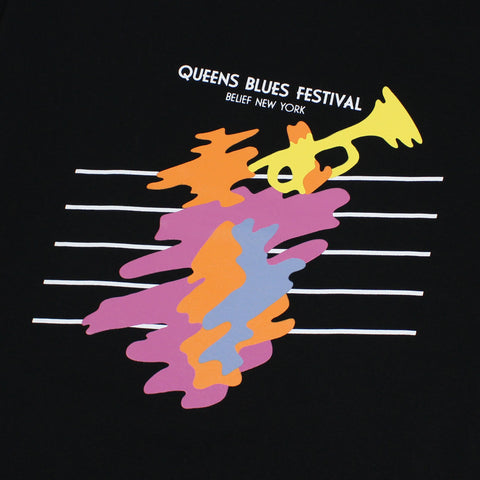 Blues Fest Tee - Black