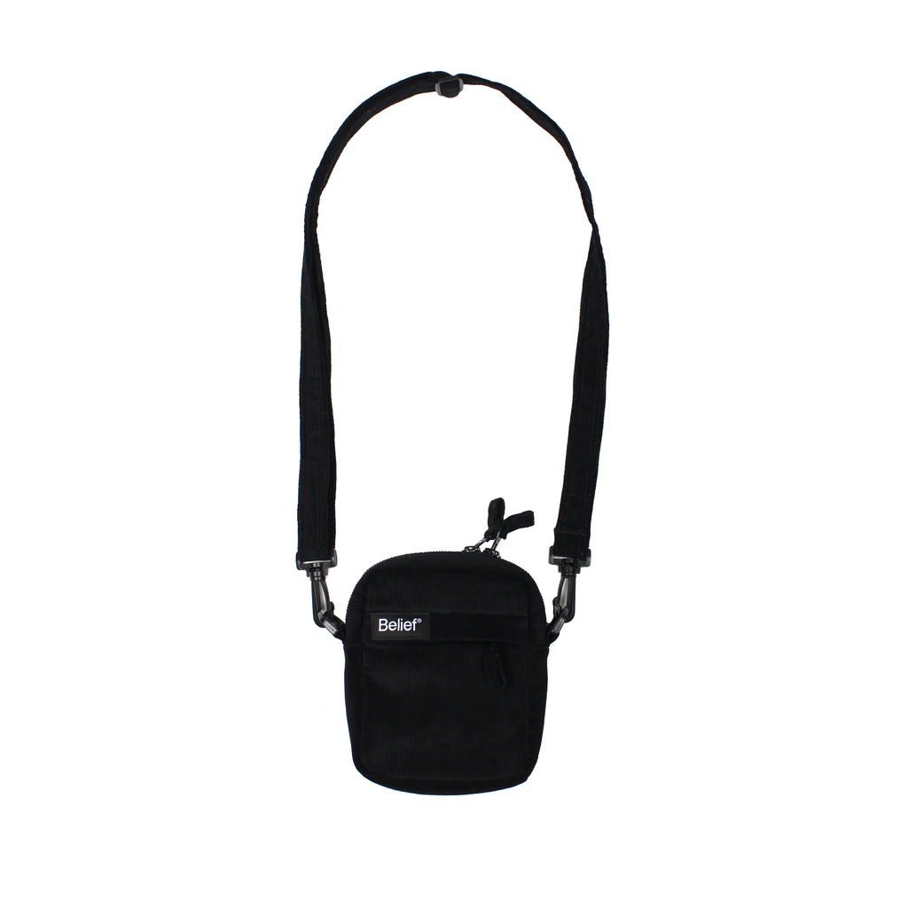 Sidewalk Shoulder Bag - Black