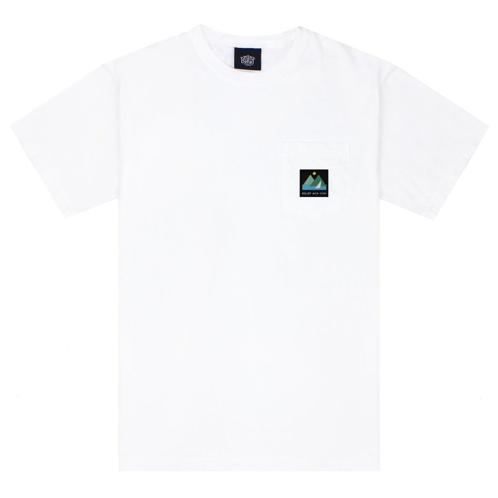 Yacht Pocket Tee - White