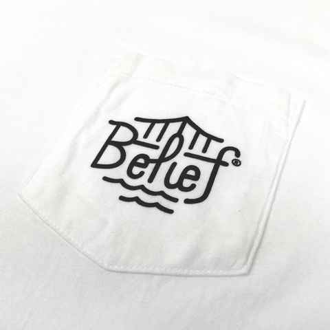 Triboro Pocket Tee - White