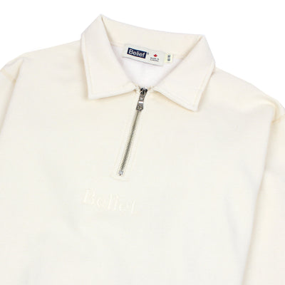 Orchard 1/4 Zip Fleece - Ivory