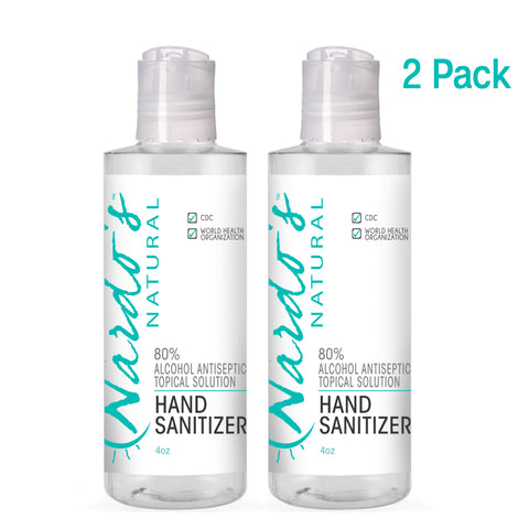 Hand Sanitizer 4 oz (2 Pack)
