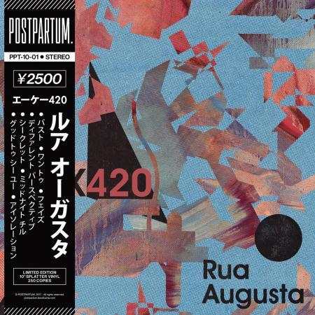 "AK420 - Rua Augusta [Vinyl Record / 10""]-POSTPARTUM. RECORDS-Dig Around Records"