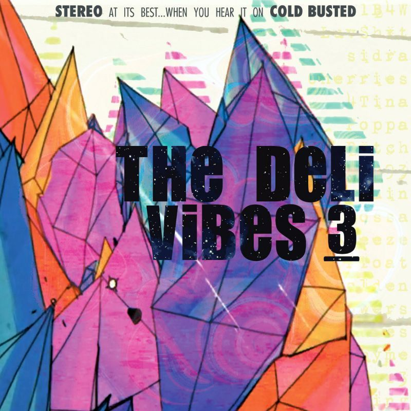 The Deli - Vibes 3 [Cassette Tape]-Cold Busted Records-Dig Around Records