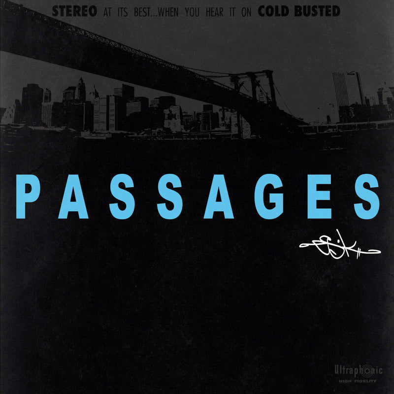Es-K - Passages [Cassette Tape]-Cold Busted Records-Dig Around Records
