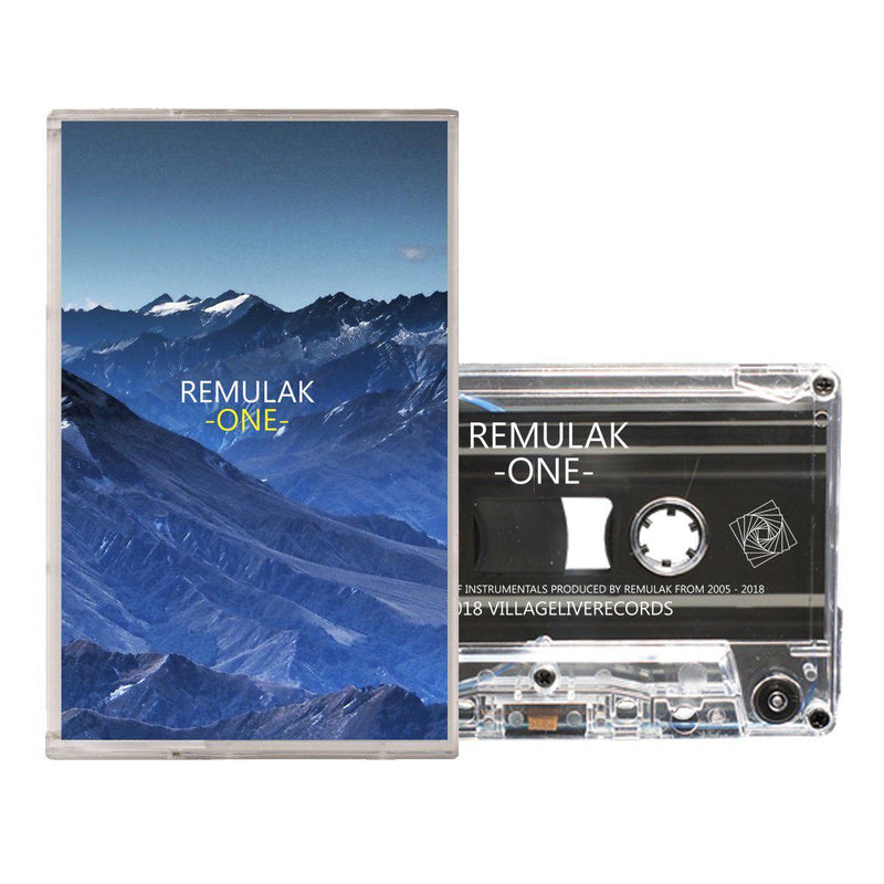 REMULAK - ONE [Cassette Tape]-Village Live Records-Dig Around Records