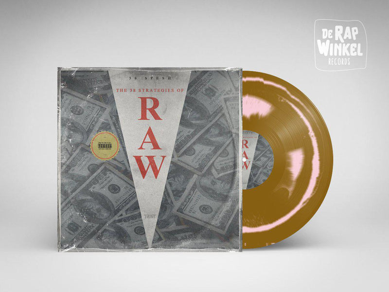 38 Spesh - 38 Strategies Of Raw [Gold Pink] [Vinyl Record / LP]-de Rap Winkel Records-Dig Around Records