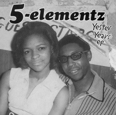 5-Elementz - Yester Years EP [CD]-Chopped Herring Records-Dig Around Records
