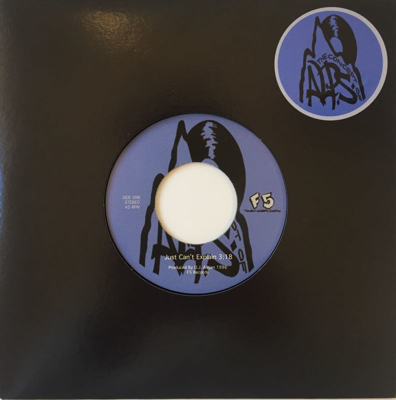 "Alps Cru - All Alone [Silver] [Vinyl Record / 7""] - Dig Around Records"