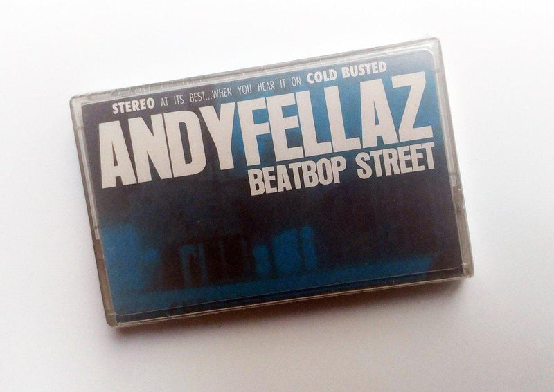 AndyFellaz - BeatBop Street [Cassette Tape]-Cold Busted Records-Dig Around Records