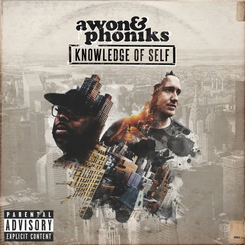 Awon & Phoniks - Knowledge Of Self [CD]-Don't Sleep Records-Dig Around Records