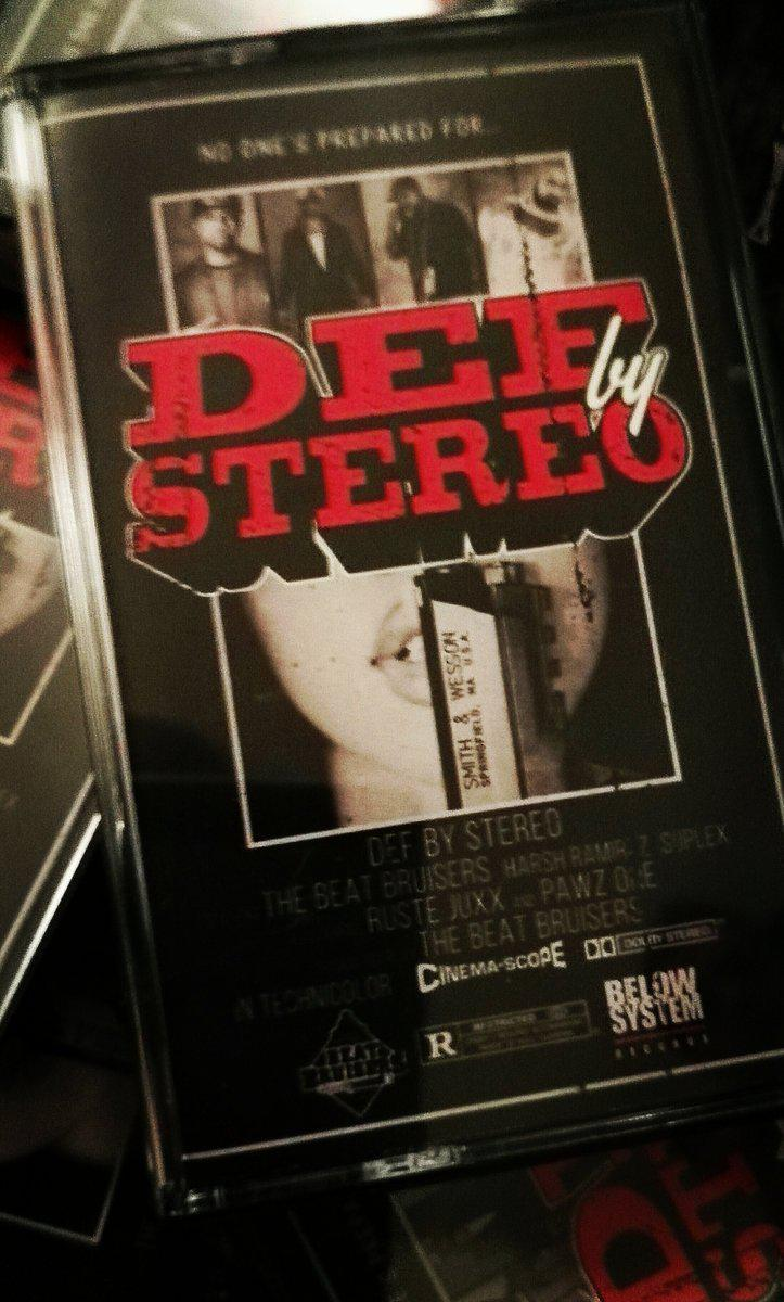 Beat Bruisers x Ruste Juxx x Pawz One - Def By Stereo [Cassette Tape]-Ill Catz Records-Dig Around Records