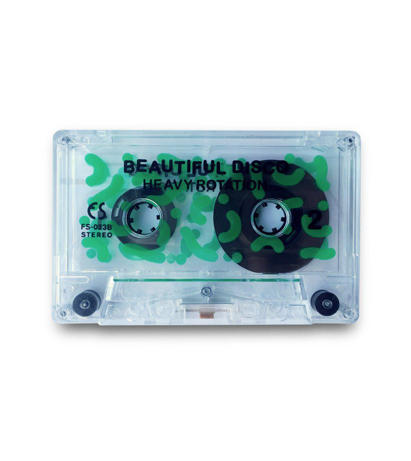 Beautiful Disco - Heavy Rotation [Cassette Tape + Sticker]-FUZZOSCOPE-Dig Around Records