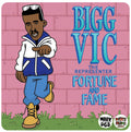 Bigg Vic - Fortune and Fame [Black] [Vinyl Record / LP]