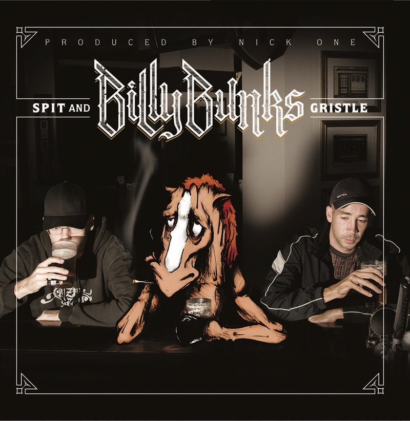 Billy Bunks - Spit And Gristle [CD]-Broken Tooth Entertainment-Dig Around Records